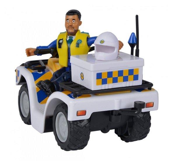 Quad Policyjny z Figurką Malcolma