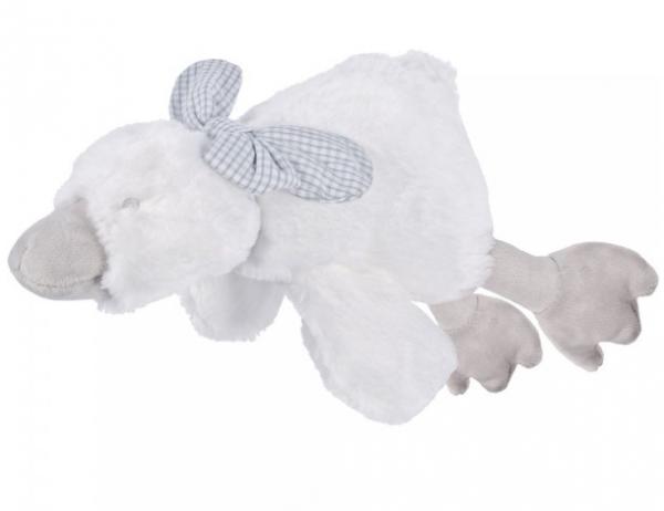 Maskotka Kaczuszka Biała Tinny z Pozytywką 25 cm Beppe 12850