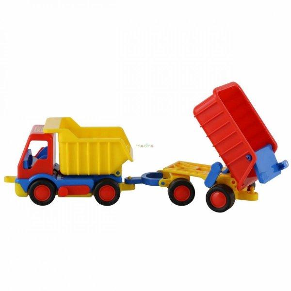 ciężarówka z wywrotką zabawka