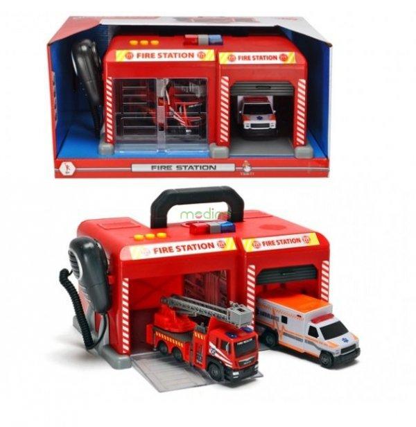 Remiza Strażacka SOS Baza Dickie Toys Sklep z zabawkami Piła