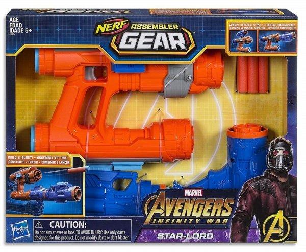 wyrzutnia nerf avengers zabawki militarne