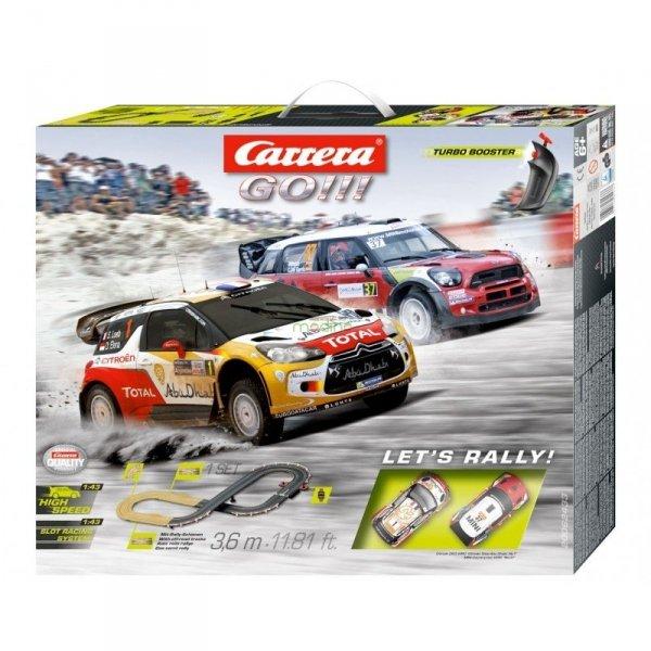 Tor wyścigowy Let`s Rally! Carrera 62433