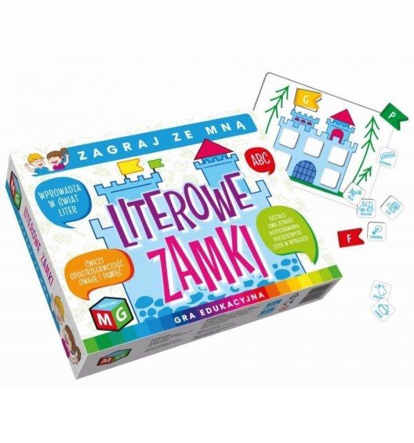 Gra Edukacyjna Literowe Zamki Multigra 30099