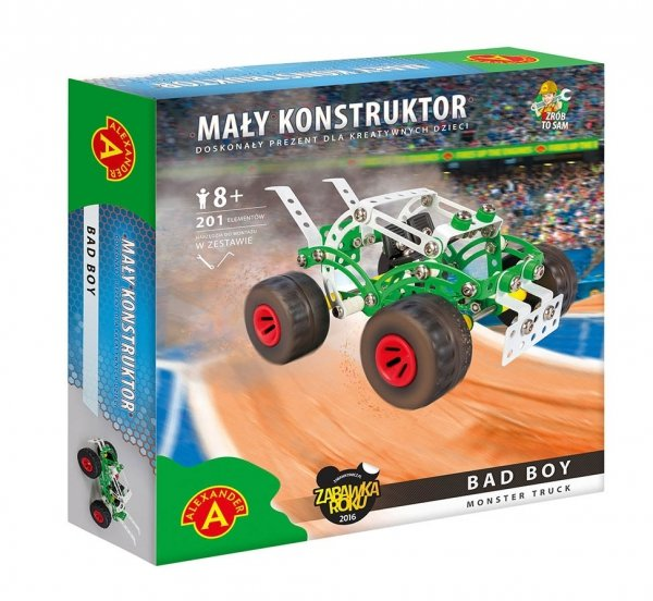 Mały konstruktor Monster Truck Bad Boy Alexander 1920