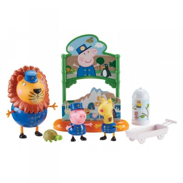Świnka Peppa Dzień w Zoo + 3 Figurki TM Toys PEP07173