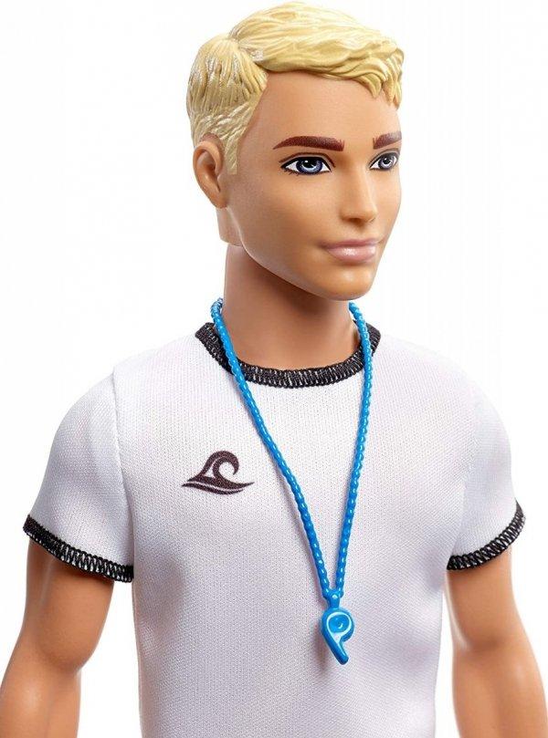 Lalka Barbie Ken Kariera ratownika Mattel