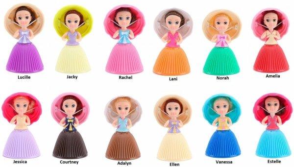 pachnące babeczki z ukrytą lalka mini cupcake surprise 8886457611080