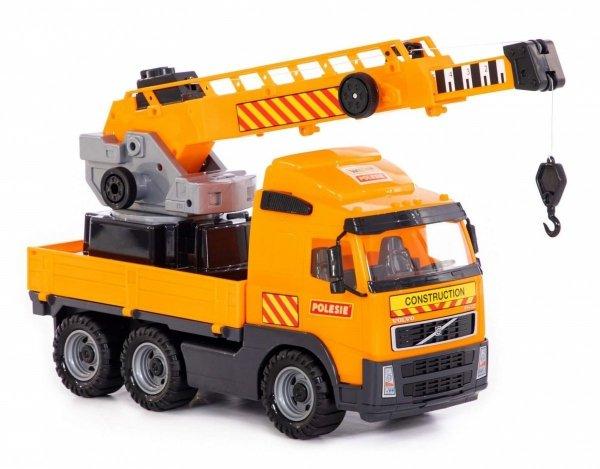 Dźwig Ciężarówka z Długim Ramieniem Volvo