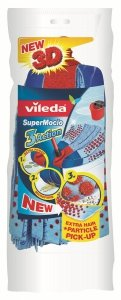 Vileda 109811 SuperMocio 3 Action Velour Wischmop