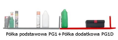 Półka dodatkowa PG1D R