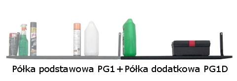 Półka dodatkowa PG1D