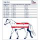 Derka stajenna HIGHLINER 300g - Harry's Horse - mid night navy