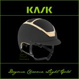 Kask Dogma Chrome Light GOLD - KASK - czarny/złoty 55-56