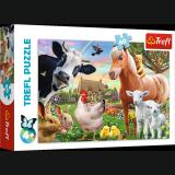 Puzzle WESOŁA FARMA 60 elementów - Trefl