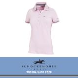 Koszulka polo MANOLI SS20 - Schockemohle - dusty rose