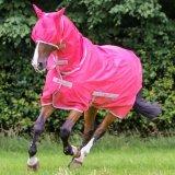 Derka siatkowa z kołnierzem FREEDOM - Bucas - hot pink