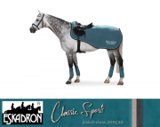 Derka treningowa Eskadron FLEECE EXERCISE - CLASSIC SPORTS - jesień-zima 2019/2020 - tealblue