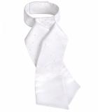 Plastron CLAIRE - ELT - biały