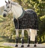 Derka polarowa Fashion Cosy Fleece - HORSEWARE - Hexagon Print