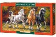 Puzzle BORN TO RUN 4000 elementów - Castorland