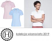 Koszulka polo SACRAMENTO damska kolekcja wiosna-lato 2019 - Harcour