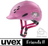 Kask ONYXX FRIENDS II - Uvex - pink