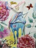 Torba Prezentowa Blue Unicorn