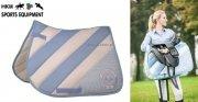 Pad HORSE&LIFESTYLE - HKM - baby blue/white
