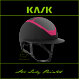 Kask Star Lady Painted - KASK - czarny/fuksja - roz. 50-54