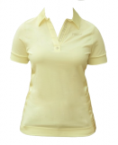 Koszulka polo OXENIA - Pikeur - vanilla - damska