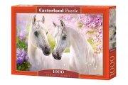 Puzzle ROMANTIC HORSES 1000 elementów - Castorland