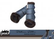Ochraniacze MESH FAUXFUR PLATINUM EDITION 2020/21 - Eskadron - vintageblue