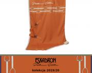 Derka Eskadron JERSEY STRIPE - PLATINUM 2019/2020 - vermillion orange