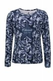 Bluzka LISSY młodzieżowa - Pikeur - blue camouflage