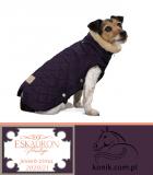 Derka dla psa GLOSSY QUILTED - Heritage 2020/21 - Eskadron - deepberry