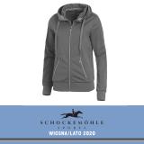 Bluza rozpinana damska CANDY SS20 - Schockemohle - asphalt
