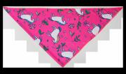 Chusta wielofunkcyjna różowa w jednorożce - COMODO