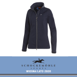 Kurtka softshell LAURA SS20 - Schockemohle - moonlight blue