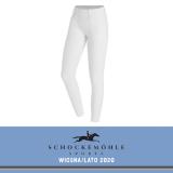 Legginsy SHOW TIGHTS SS20 - Schockemohle - white