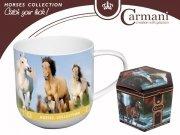 Kubek konie - Carmani