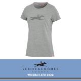 Koszulka LAILA SS20 - Schockemohle - grey-melange