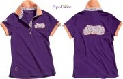 Koszulka polo RUG purpurowa - Equi-Theme