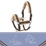 Kantar DOUBLE PIN FAUX FUR Eskadron Classic Sports wiosna-lato 2020 - brown