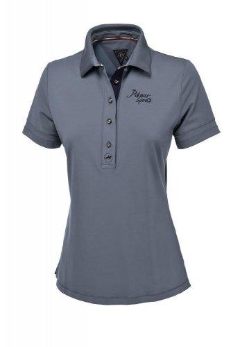 Koszulka funkcyjna polo LAUNA - Pikeur - smoked blue - damska