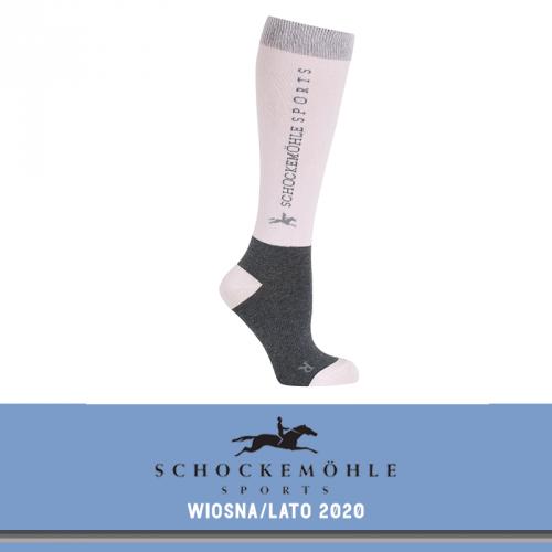 Podkolanówki SPORT SS20 - Schockemohle - dusty rose