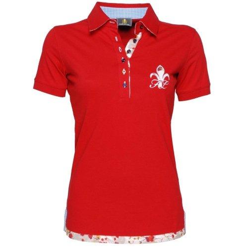 Damska koszulka polo SPORTY red - FIOR DA LISO