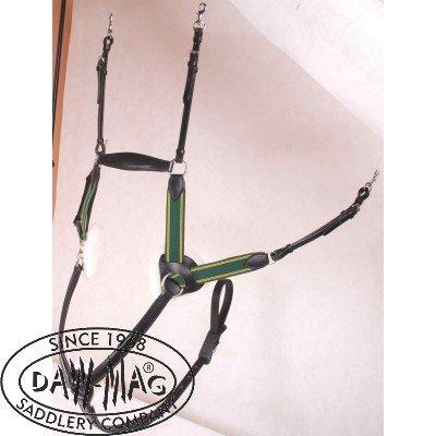Napierśnik skokowy 4-punktowy - DAW-MAG