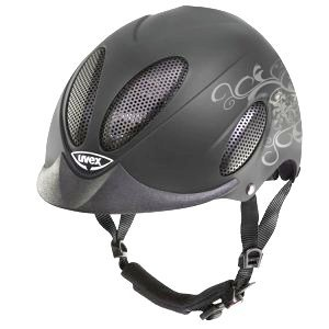 Kask UVEX perfexxion / FP3 floral anthracite mat