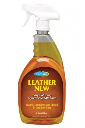 LEATHER NEW mydło glicerynowe do skór 473 ml - FARNAM