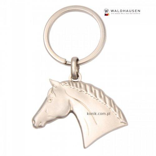Brelok z metalu Satin - głowa konia